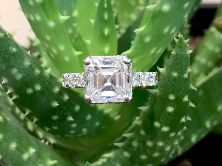 Feature Piece: Heirloom Asscher Diamond