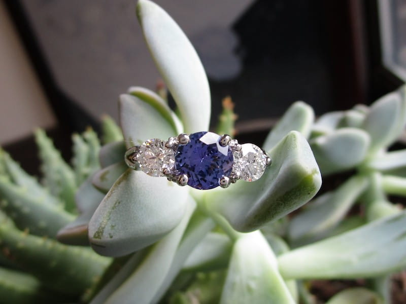 Feature Piece: Tanzanite Ring
