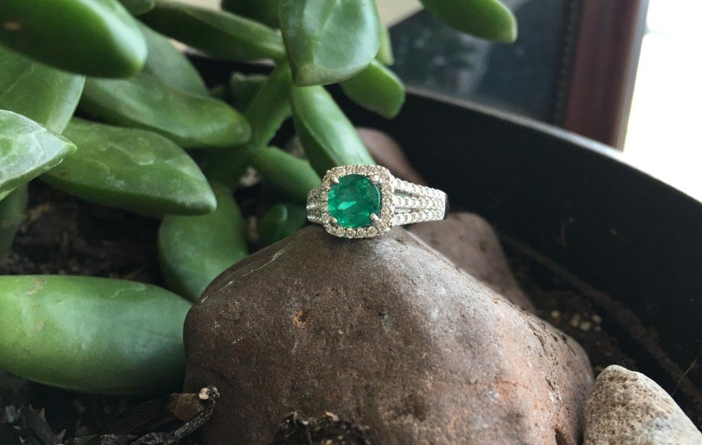 Feature Piece: Emerald Ring