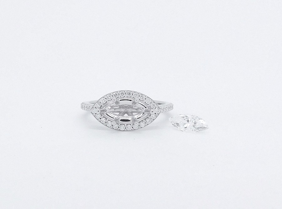 Feature Piece: East-West Marquise Ring